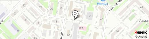 Кстовский городской суд на карте Кстово