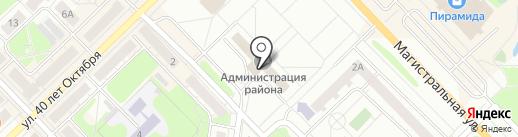 Инспекция административно-технического надзора Нижегородской области на карте Кстово