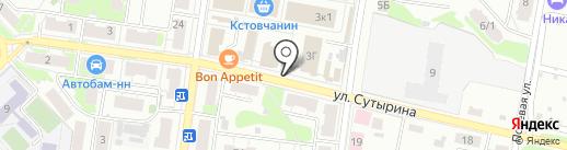 Мастерская на карте Кстово