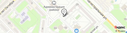 Центральная библиотека им. А.С. Пушкина на карте Кстово