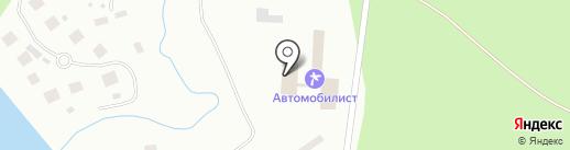 Автомобилист на карте Бора