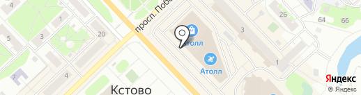 Банкомат, Банк Возрождение, ПАО на карте Кстово
