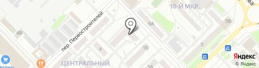Медея на карте Кстово