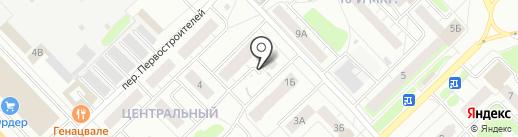 Багира на карте Кстово