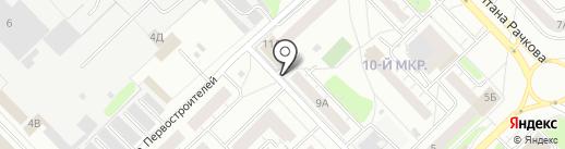 Охрана Росгвардии, ФГКУ на карте Кстово