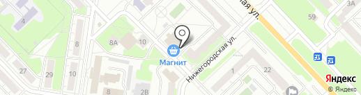 Квартирный вопрос на карте Кстово