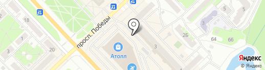 Магазин фастфудной продукции на карте Кстово