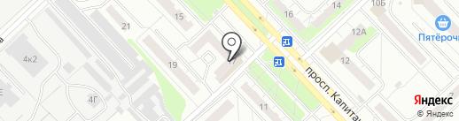 Maffin Cafe на карте Кстово