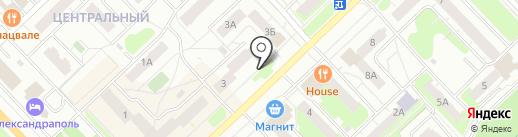 Связист на карте Кстово