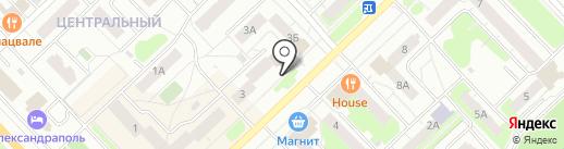 Банкомат, Банк ВТБ 24, ПАО на карте Кстово