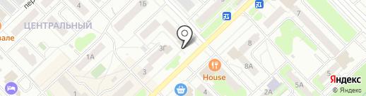 МоDжи на карте Кстово
