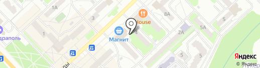 Ладушка на карте Кстово