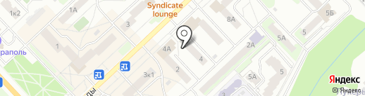Напечатано на карте Кстово