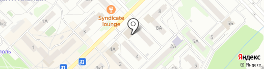 ВСК, САО на карте Кстово