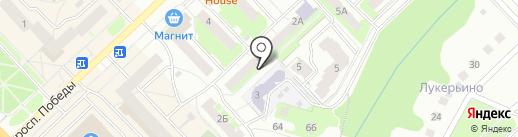 Управление Федеральной службы РФ по контролю за оборотом наркотиков по Нижегородской области на карте Кстово