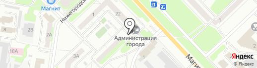 Управление жилищными отношениями на карте Кстово
