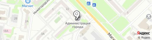 Централизованная клубная система Кстовского муниципального района на карте Кстово