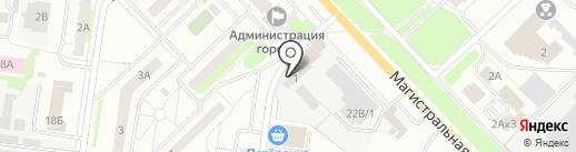 CyberPlat на карте Кстово