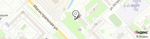 Ателье по ремонту одежды на карте Кстово