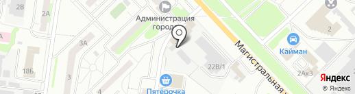 Хостел на карте Кстово