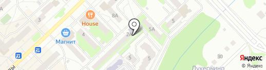 Городская библиотека №34 на карте Кстово