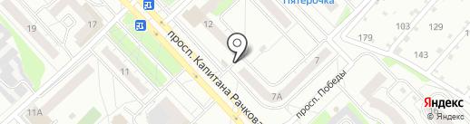 Магазин разливных напитков на карте Кстово