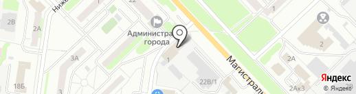 Время есть на карте Кстово