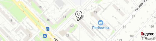 Магазин стройматериалов и сантехники на карте Кстово