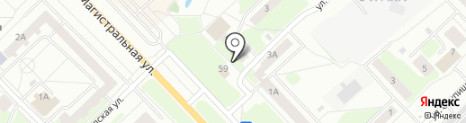 Парикмахерская на ул. Островского на карте Кстово