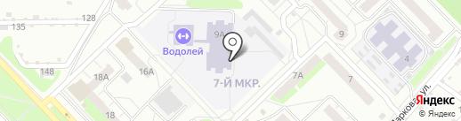 Средняя школа №8 с углубленным изучением отдельных предметов на карте Кстово