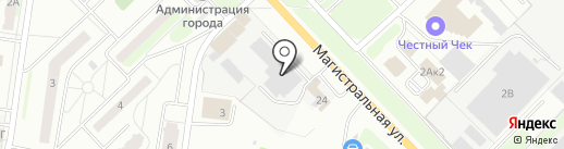 Кстовский молочный завод на карте Кстово