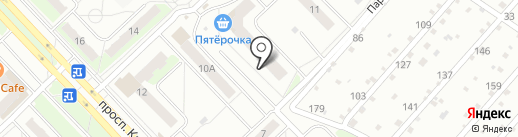 Пятерочка на карте Кстово