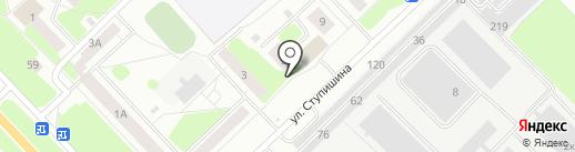 Кстово на карте Кстово
