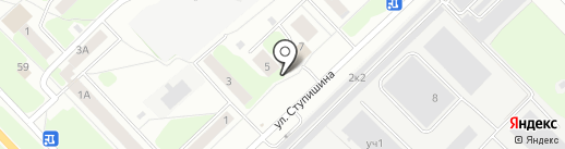 Почтовое отделение №14 на карте Кстово