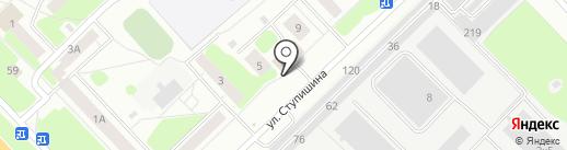 Этна на карте Кстово