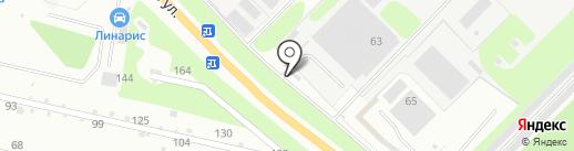 Автостоянка на карте Кстово