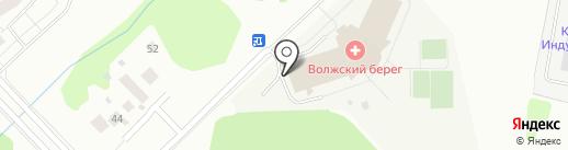 Беголет на карте Кстово
