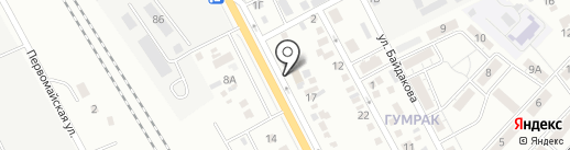 Домашняя кухня на карте Волгограда