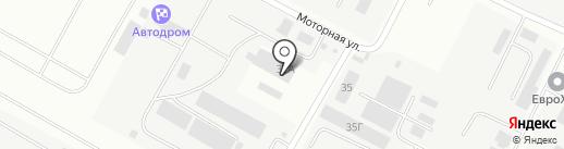 Рувир на карте Волгограда