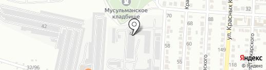 Луидор на карте Волгограда