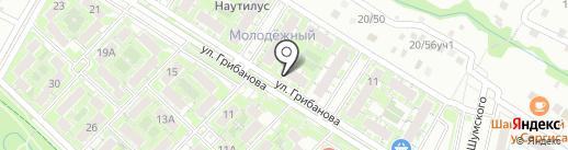 Семейная аптека + на карте Волгограда