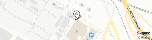 Агросвязь на карте Волгограда