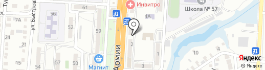 Аура на карте Волгограда