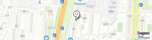 Табачная лавка на карте Волгограда