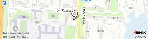 СтройМонтажСервис на карте Волгограда