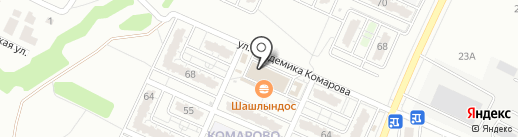 Мастер Шифу на карте Волгограда