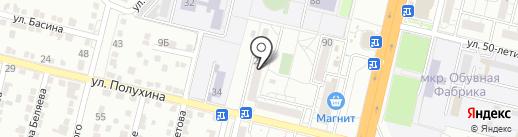 ЮгСервис на карте Волгограда