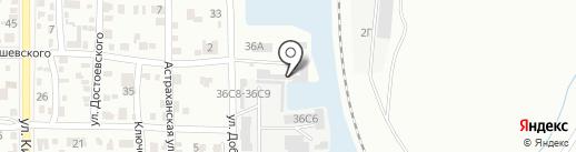 Компания по прокладке коммуникаций на карте Волгограда