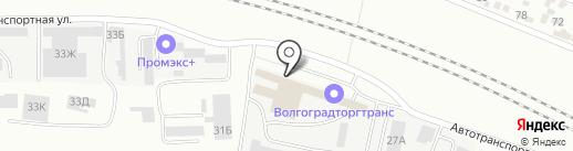 Беллария на карте Волгограда