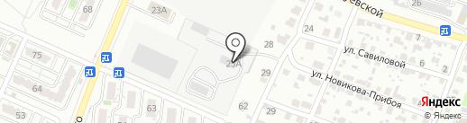 Производственно-торговая компания на карте Волгограда